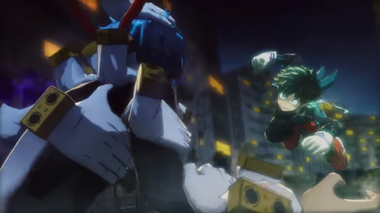 My Hero Academia: One's Justice fight