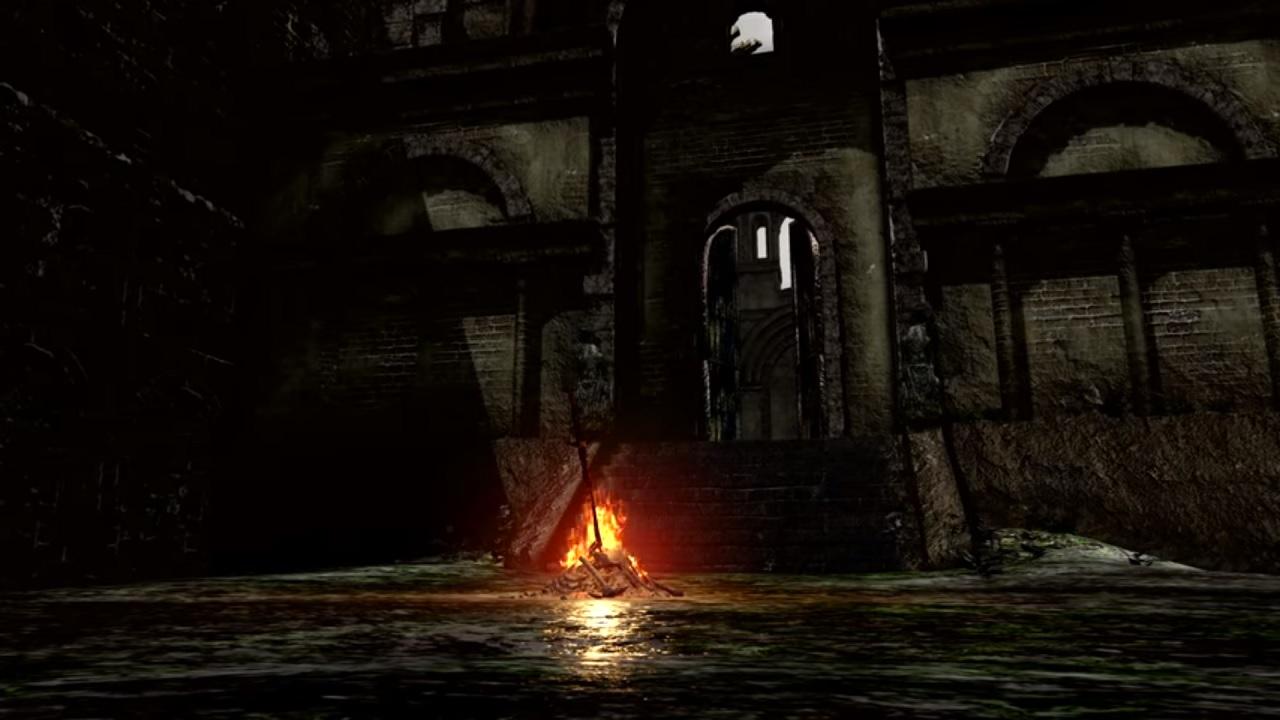 Dark Souls the fire