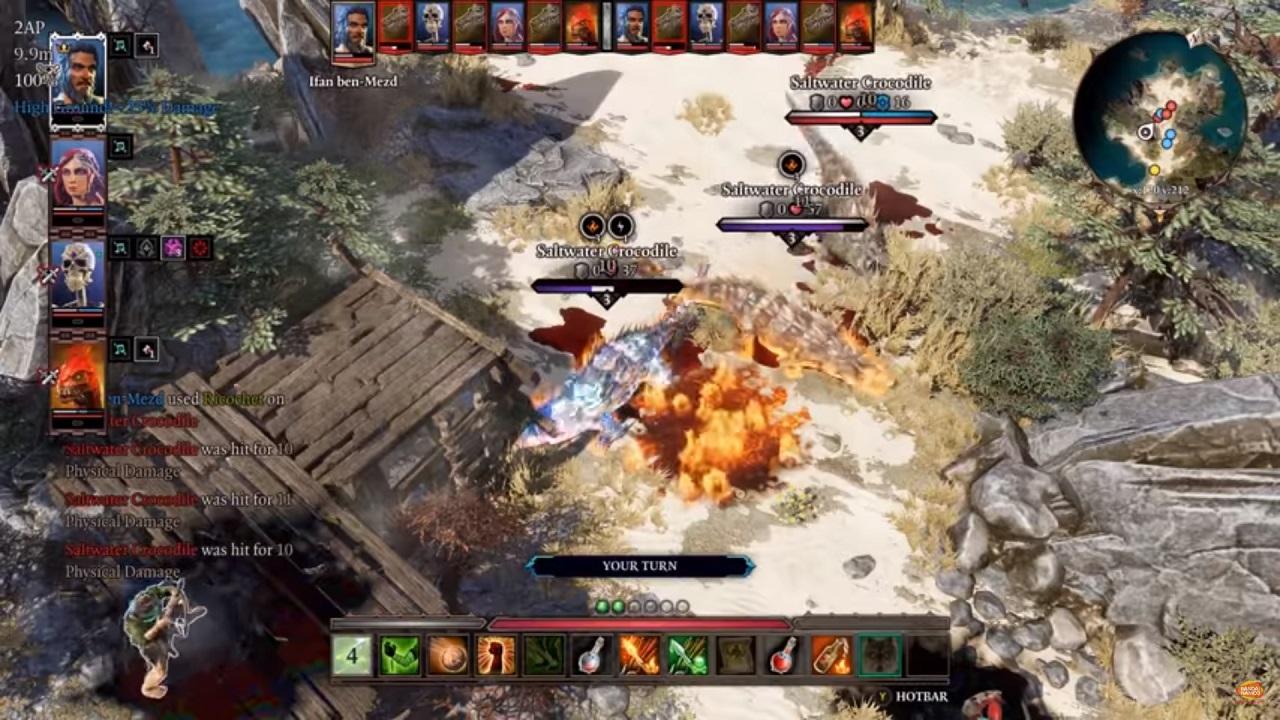 Divinity: Origianl Sin 2: Definitive Edition battles