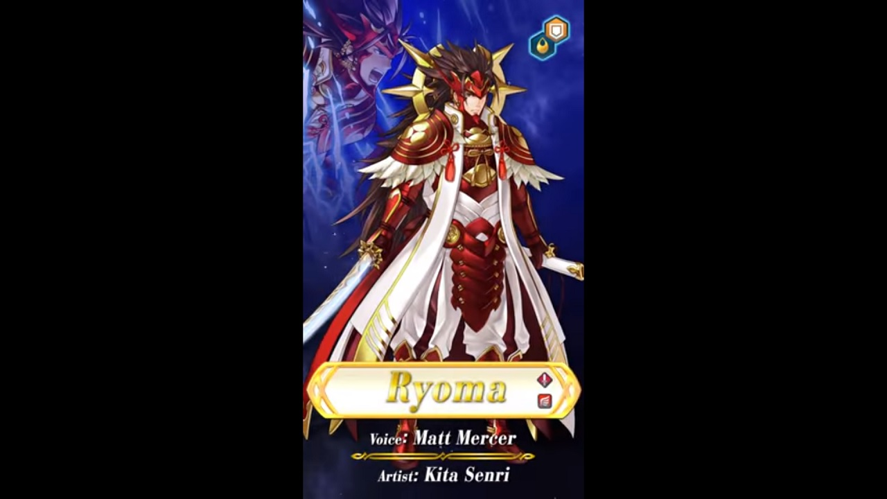 Fire Emblem Heroes Ryoma