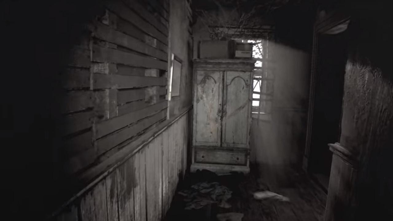 resident evil 7 hall scene