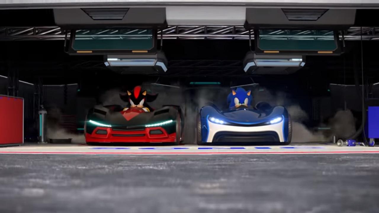 Team Sonic Racing race cars