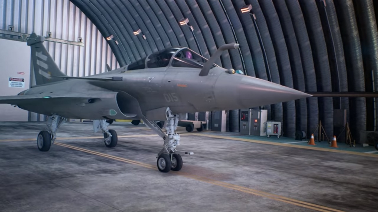 Ace Combat 7: Skies Unknown jet fighter