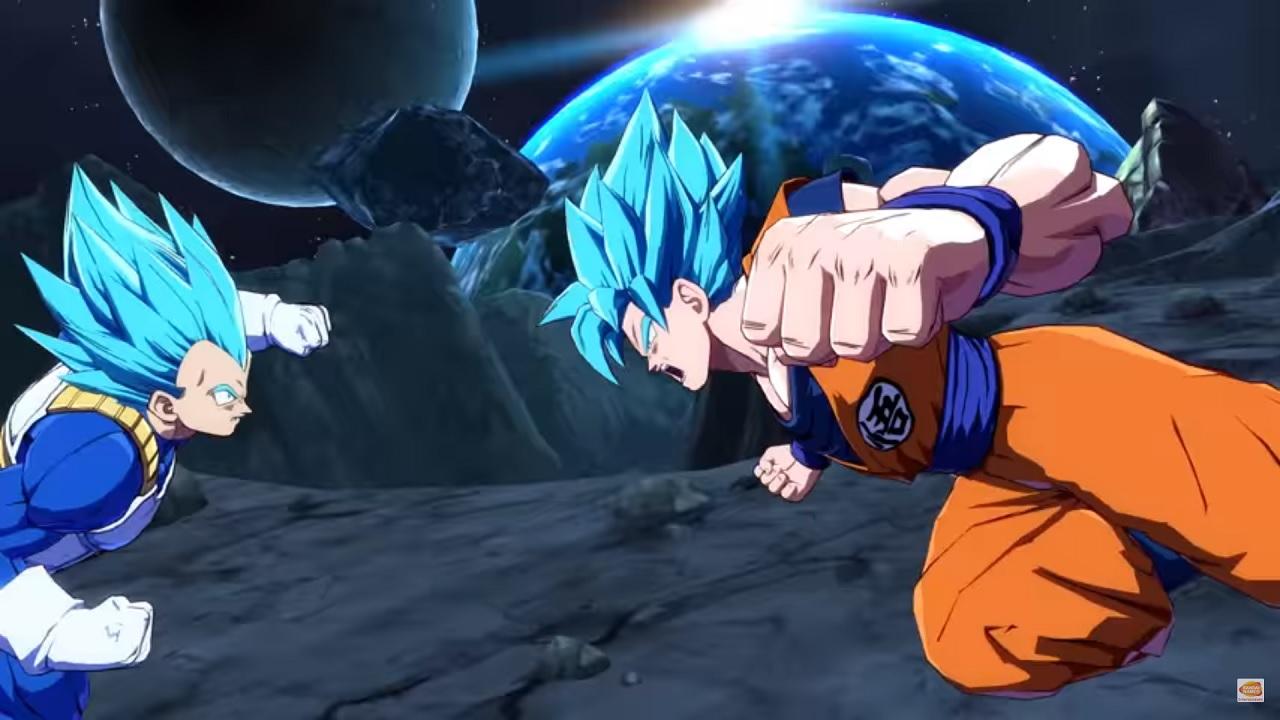 Dragon Ball FighterZ clash