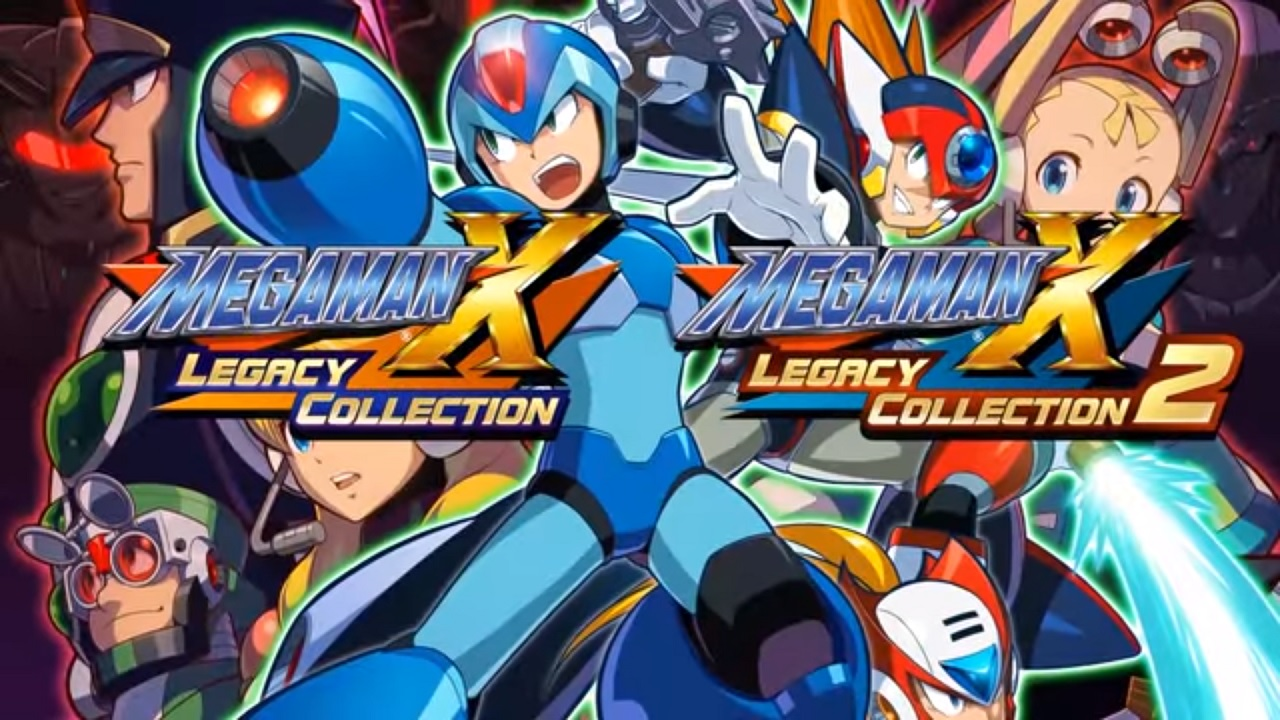 Mega Man X Legacy Collection 1 and 2 Challenge mode