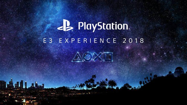 PlayStation E3 Experience header
