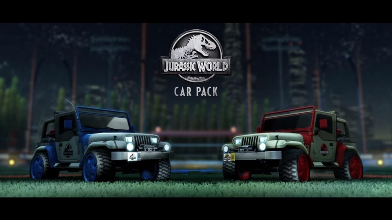 Rocket League Jurassic World Car Pack