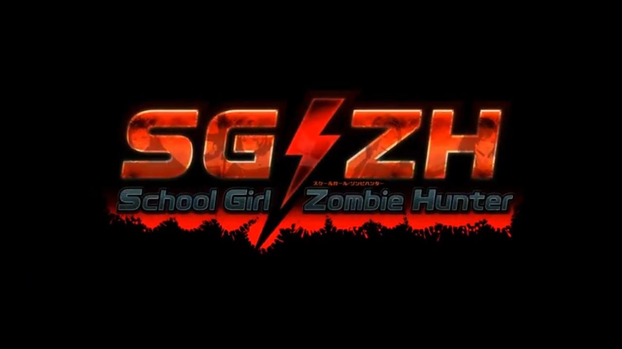 School Girl/Zombie Hunter title