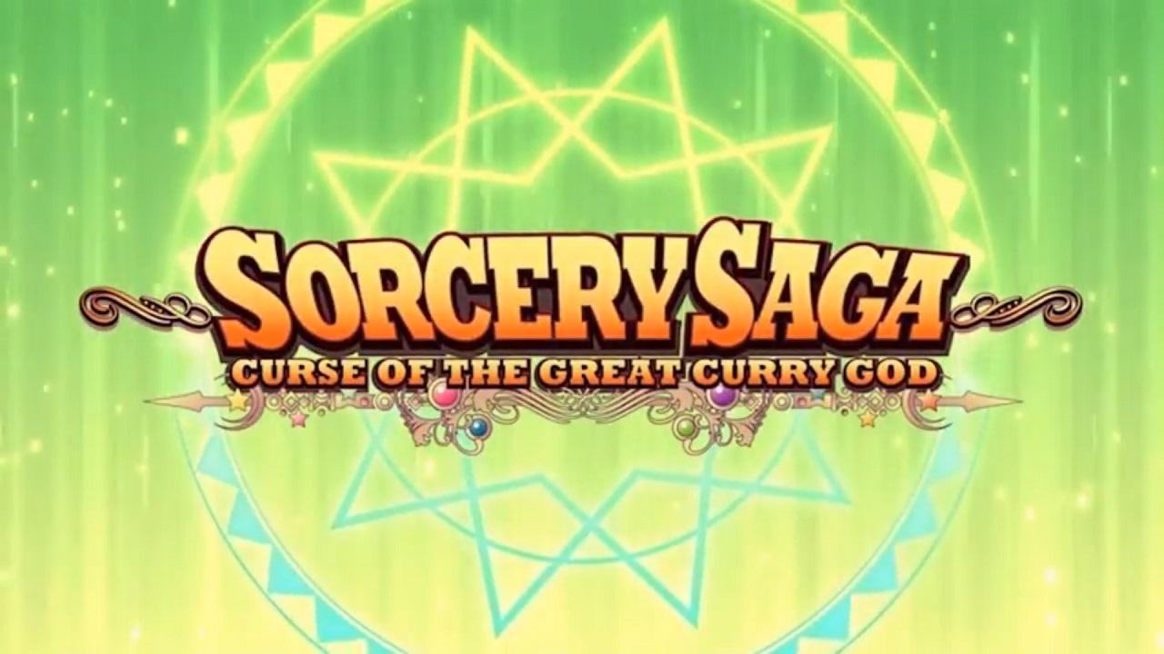 Sorcery Saga: Curse of the Great Curry God title