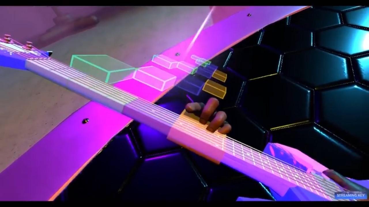 Riff VR playing guitars