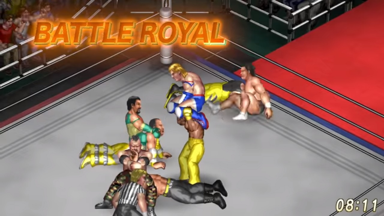 Fire Pro Wrestling World fights