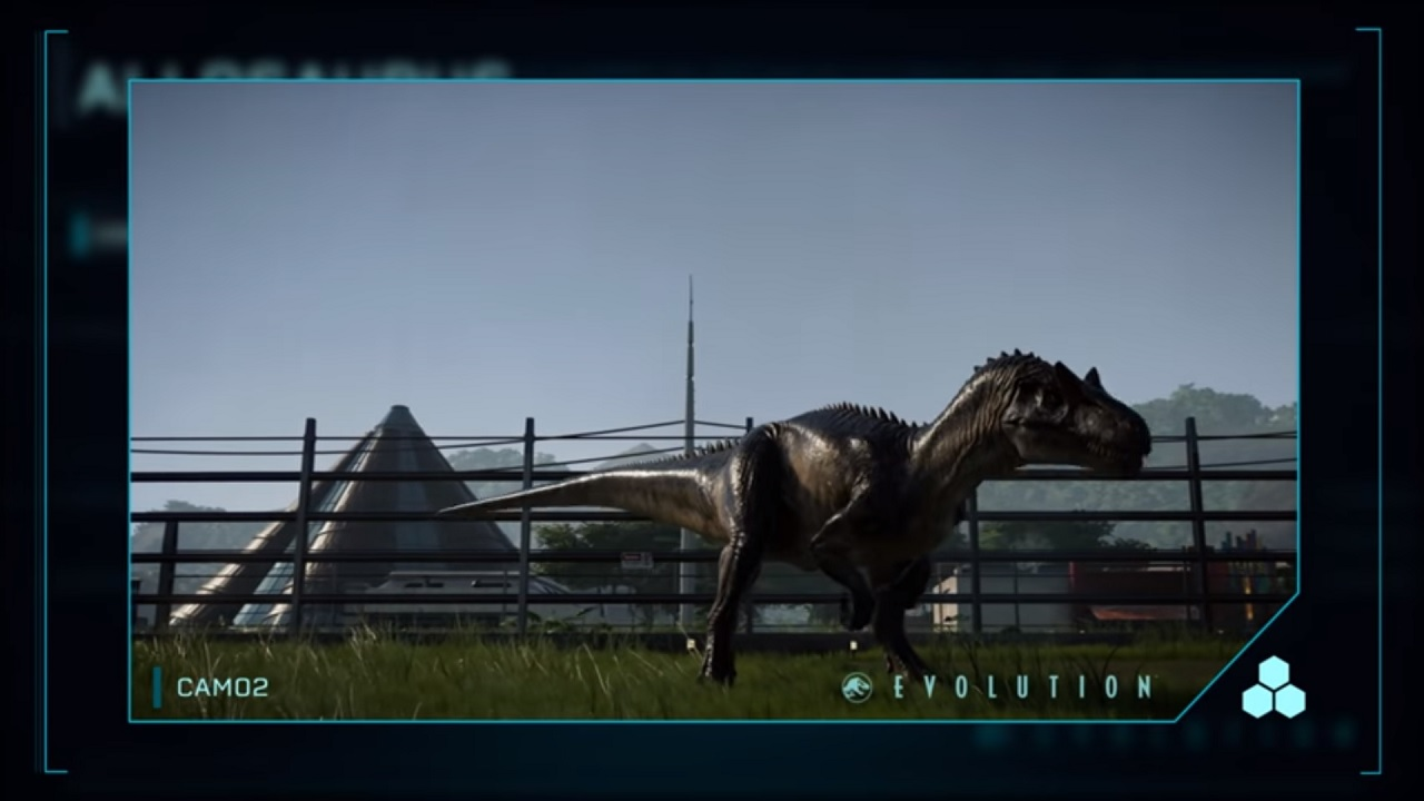 Jurassic World Evolution Allosaurus