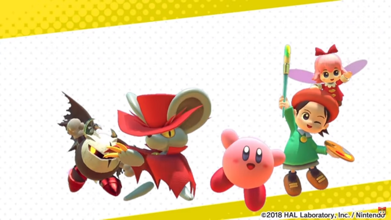 Kirby Star Allies new wave 2
