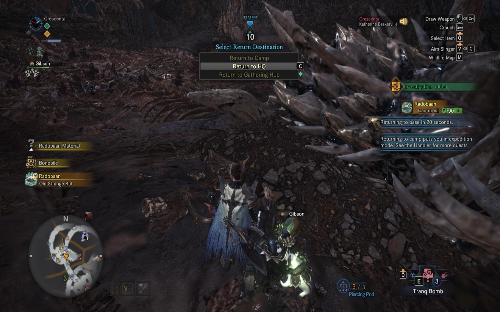 Monster Hunter World Capturing Monsters