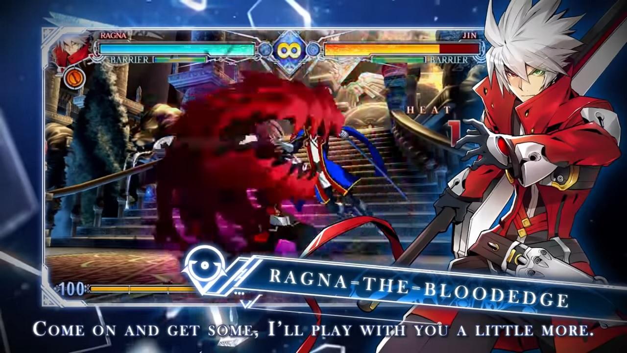 Blazblue Centralfiction Ragna the Bloodedge