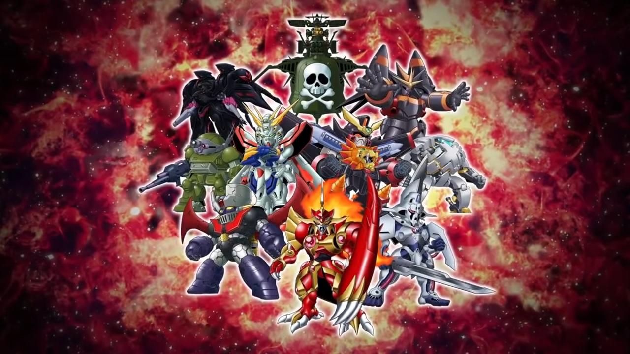 Super Robot Wars T cast
