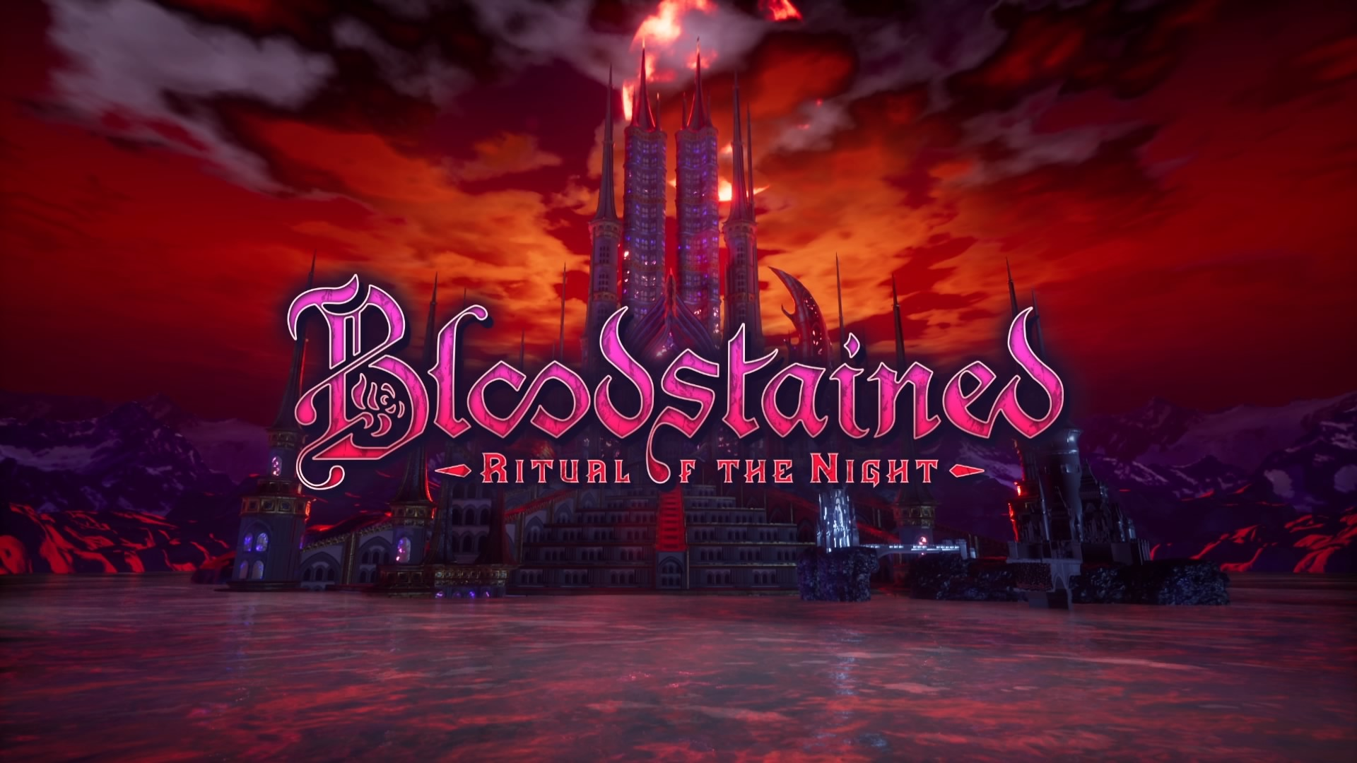 Bloodstained: Ritual of the Night title