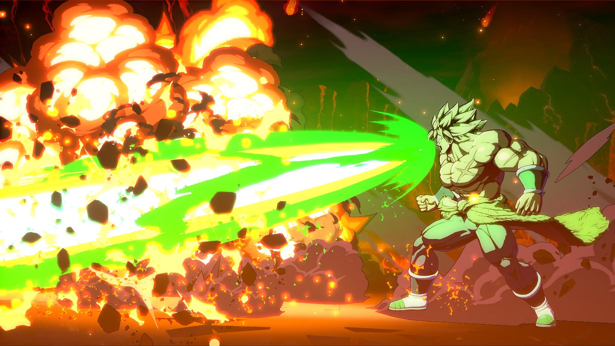 Dragon Ball FighterZ Broly DBS