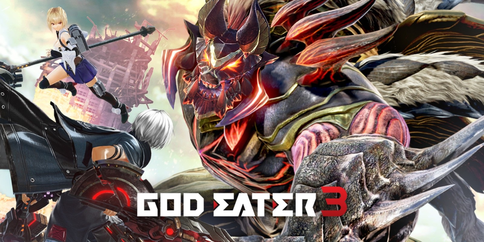 God Eater 3 title