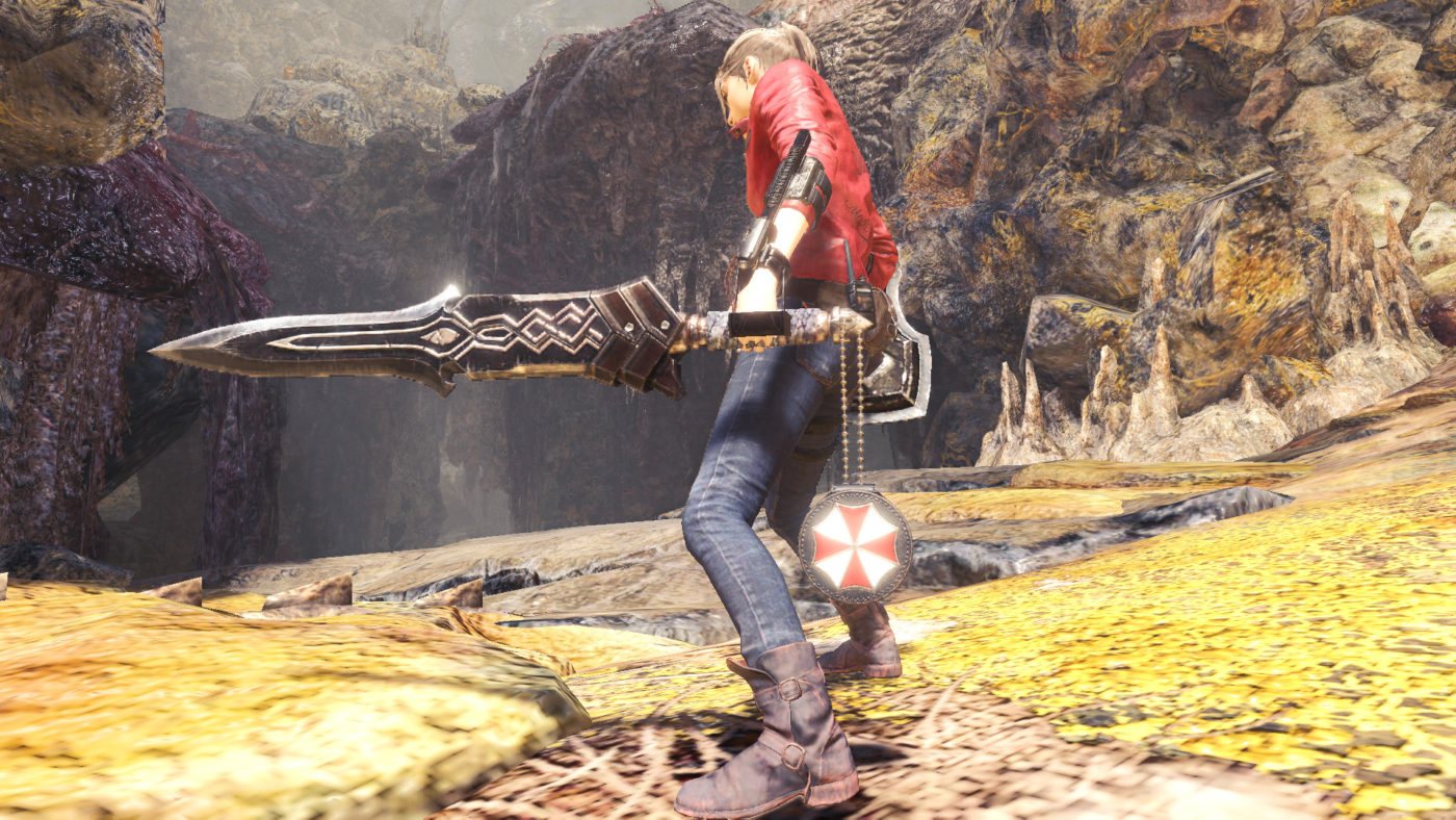 Monster Hunter World Iceborne RE2 Collab