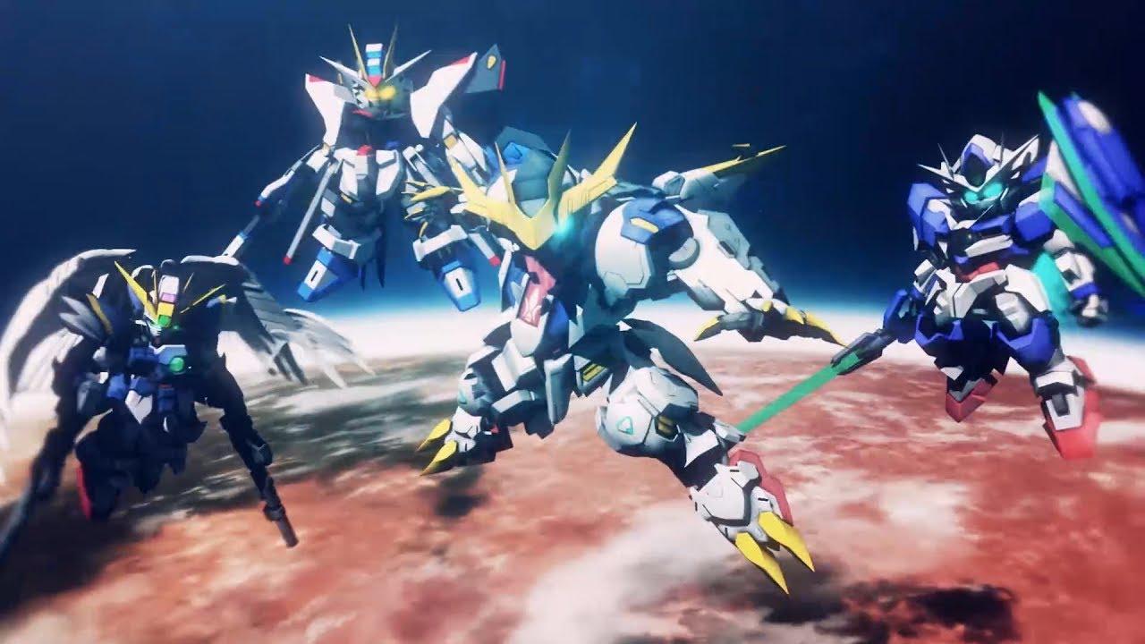 SD Gundam G Generation Cross Rays 4 big Gundams