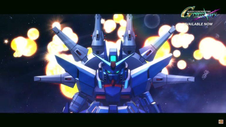 SD Gundam G Generation Cross Rays Providence Gundam
