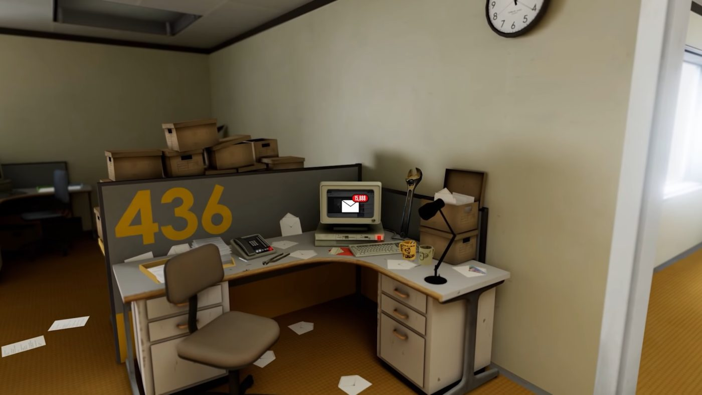 The Stanley Parable: Ultra Deluxe office