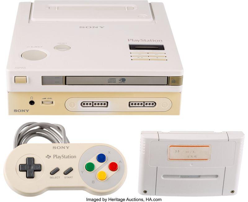 Nintendo PlayStation Prototype
