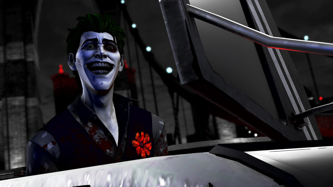 Telltale Batman Shadows Edition Joker