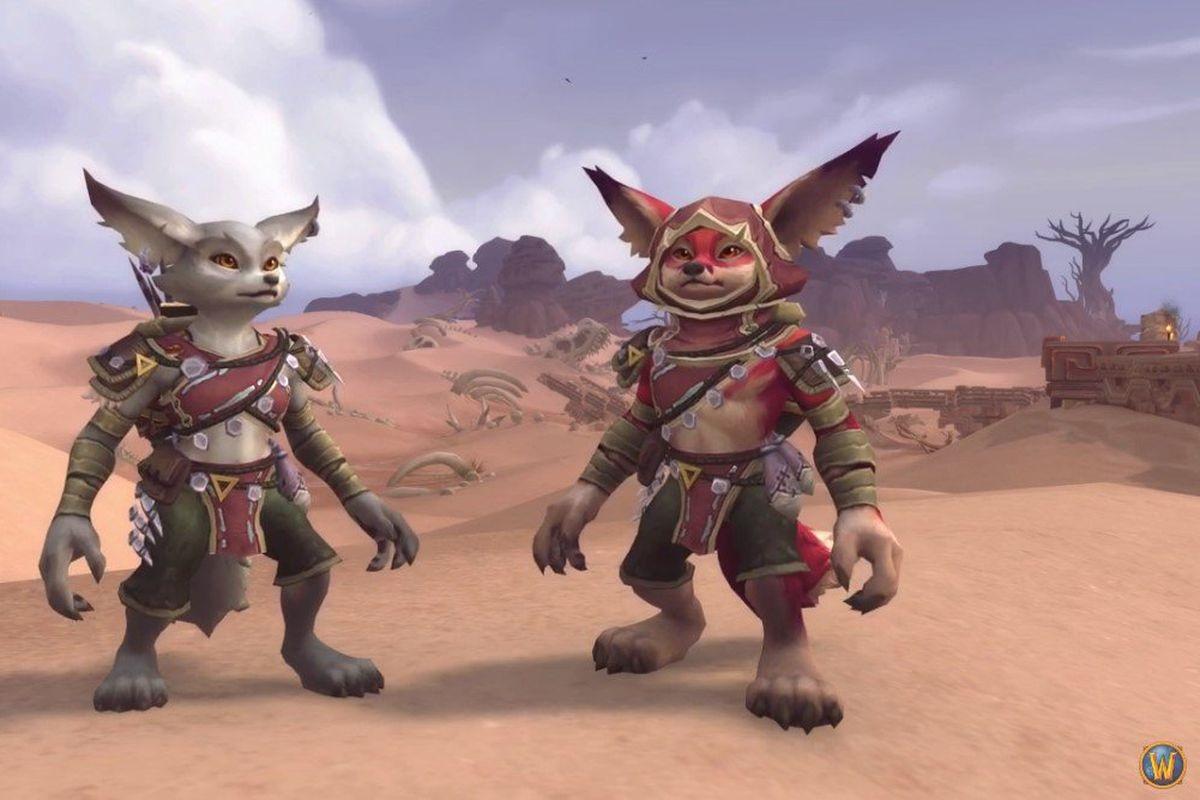 World of Warcraft Vulpera