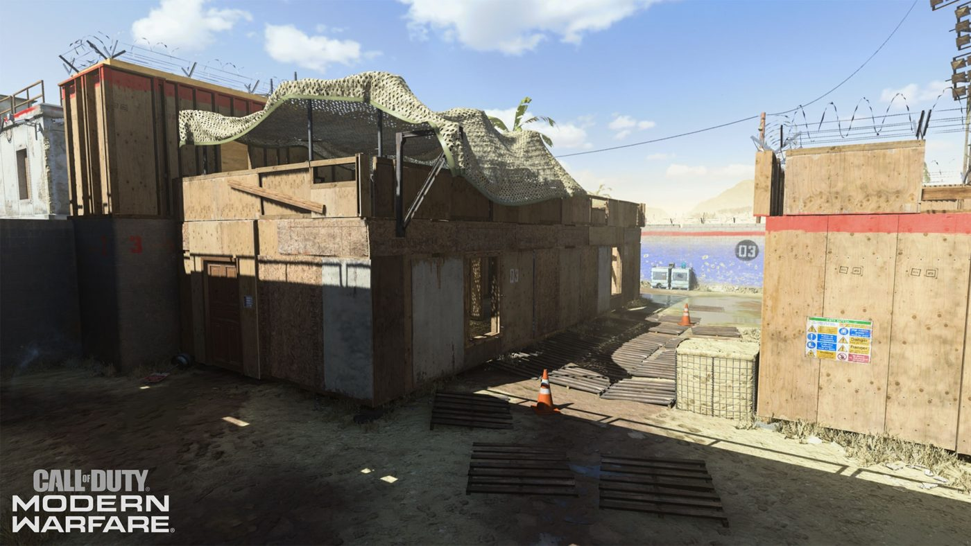Call of Duty: Modern Warfare Shoot House map