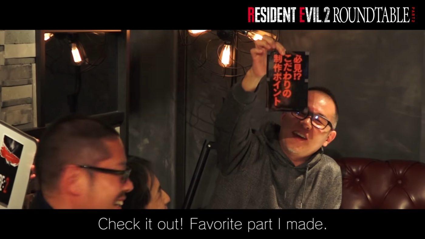 Resident Evil 2 devs