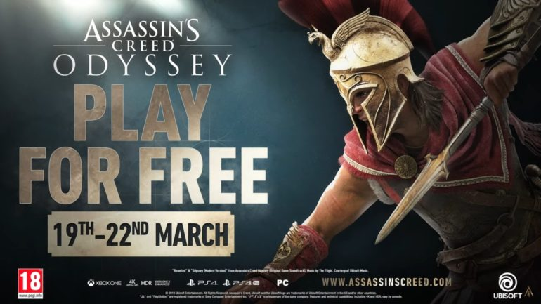 Assassins Creed Odyssey Free Weekend