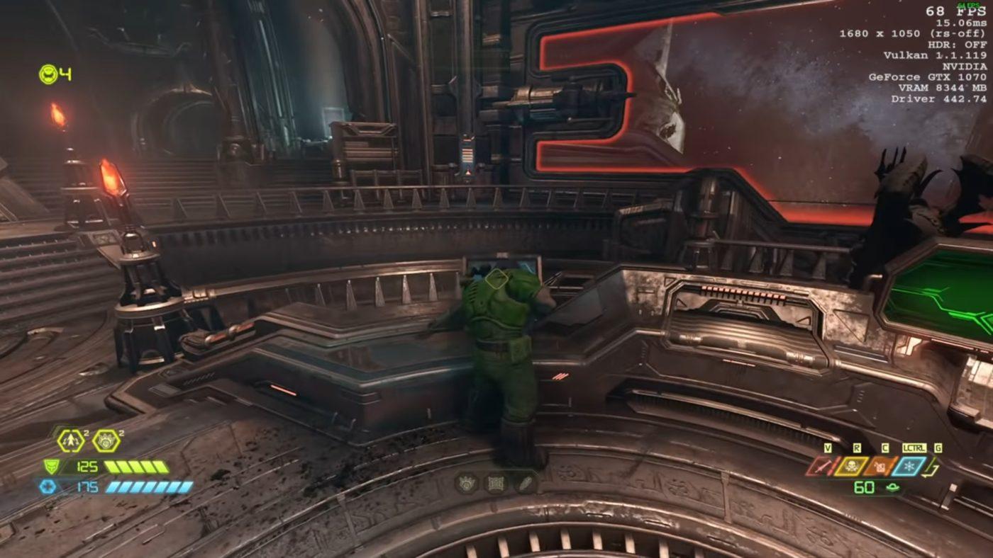 Doom Eternal third person view