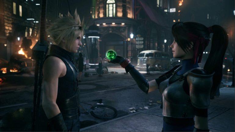 Final Fantasy VII: Remake Cloud