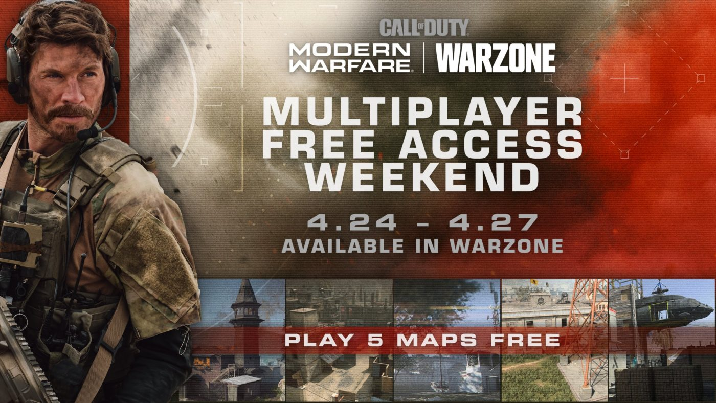 Call of Duty Warzone free access weekend