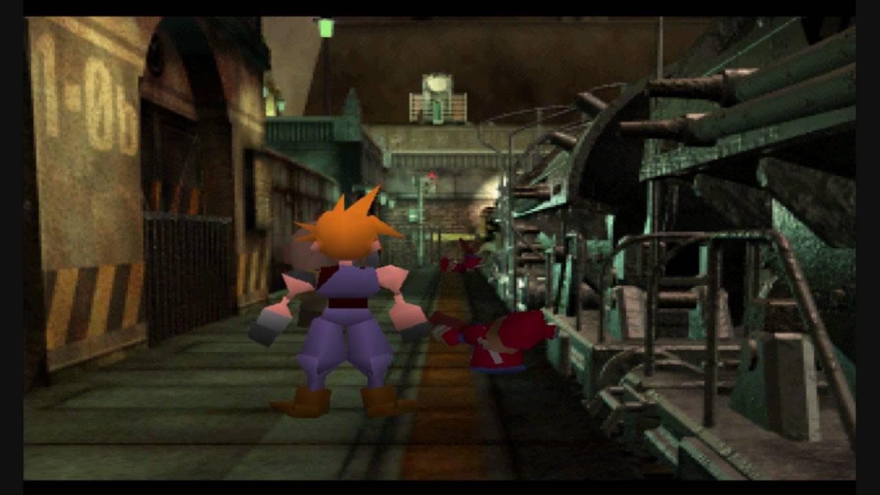 Final Fantasy VII Original Bombing Scene