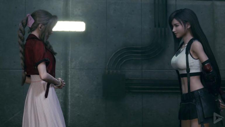 final fantasy vii remake aerith and tifa