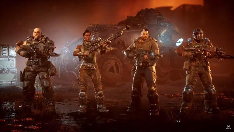 Gears Tactics team members