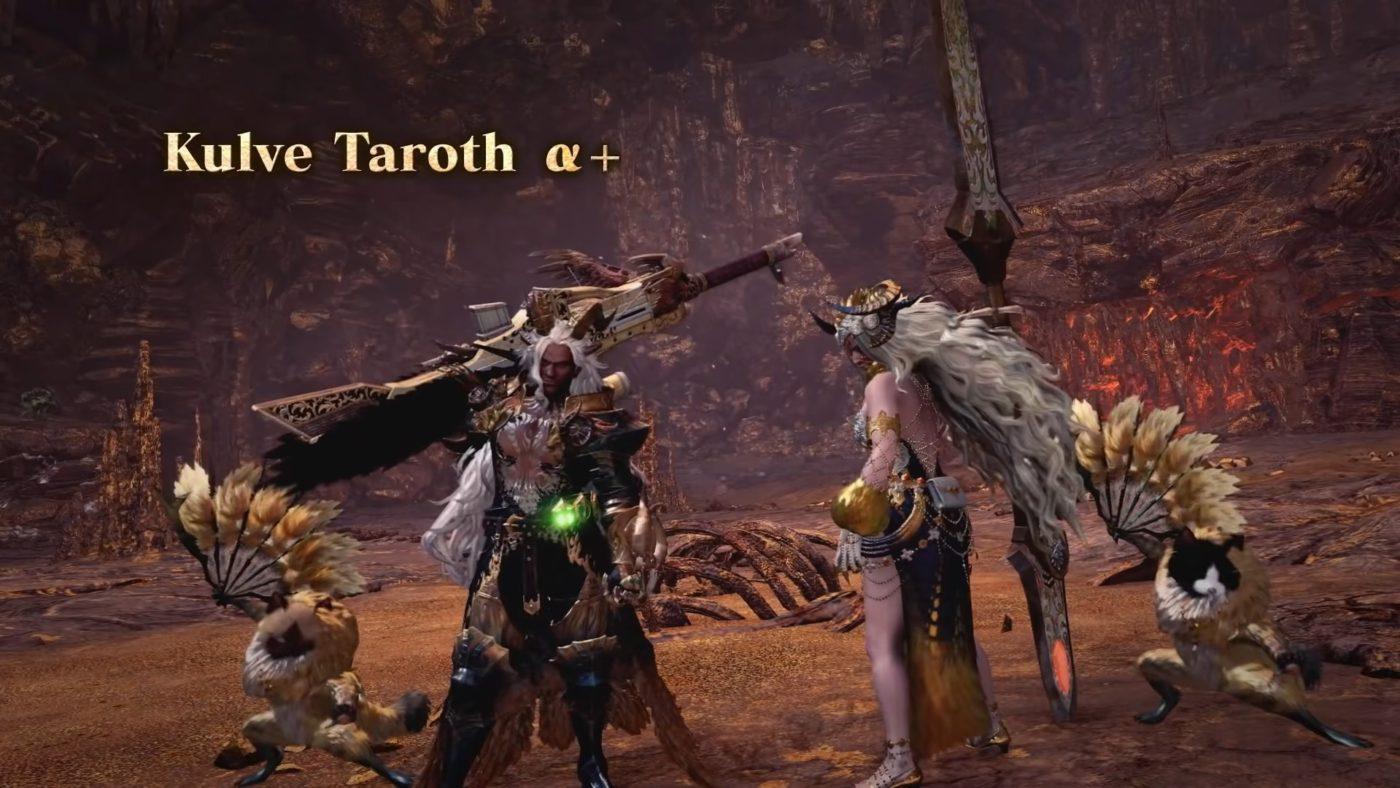 Monster Hunter World Iceborne Kulve Taroth Armor