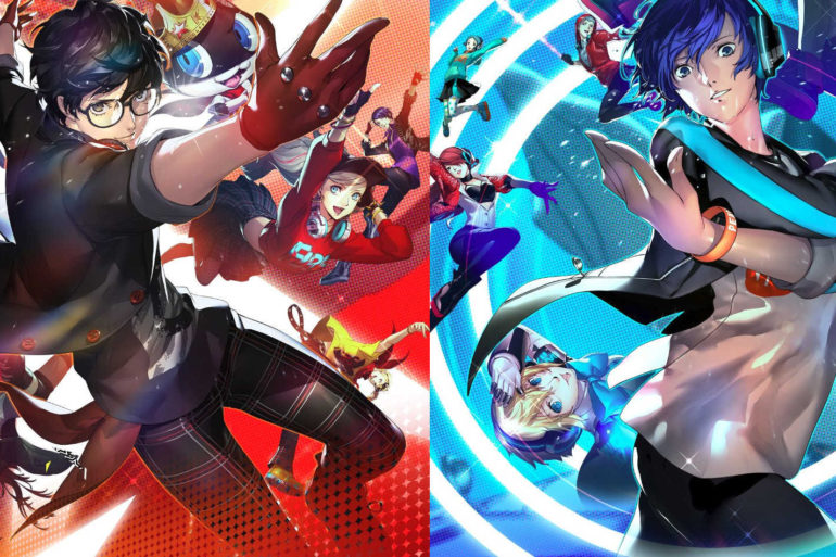 Persona 3 and Persona 5 dancing games