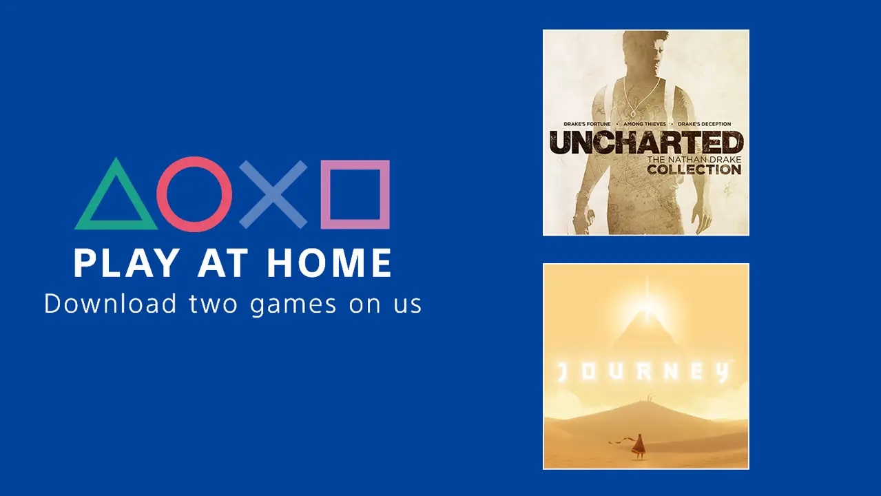 Play At Home Initiative two free games