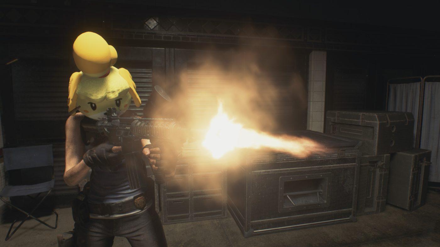 Resident Evil 3 Remake Isabelle head
