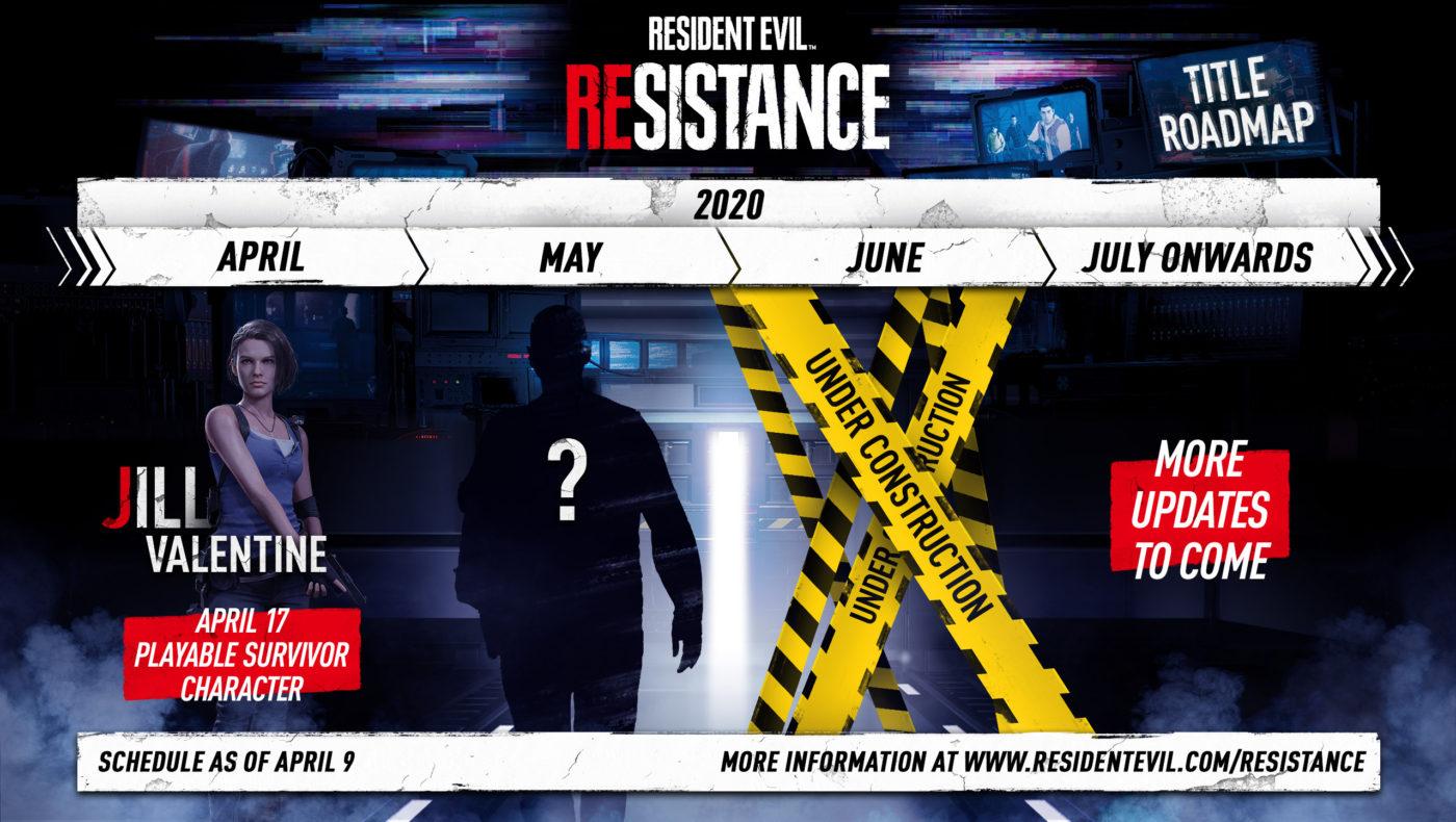 Resident Evil Resistance content roadmap