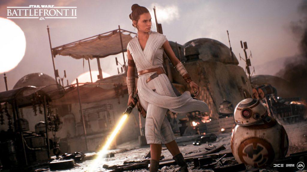 Star Wars Battlefront II Rey Skywalker