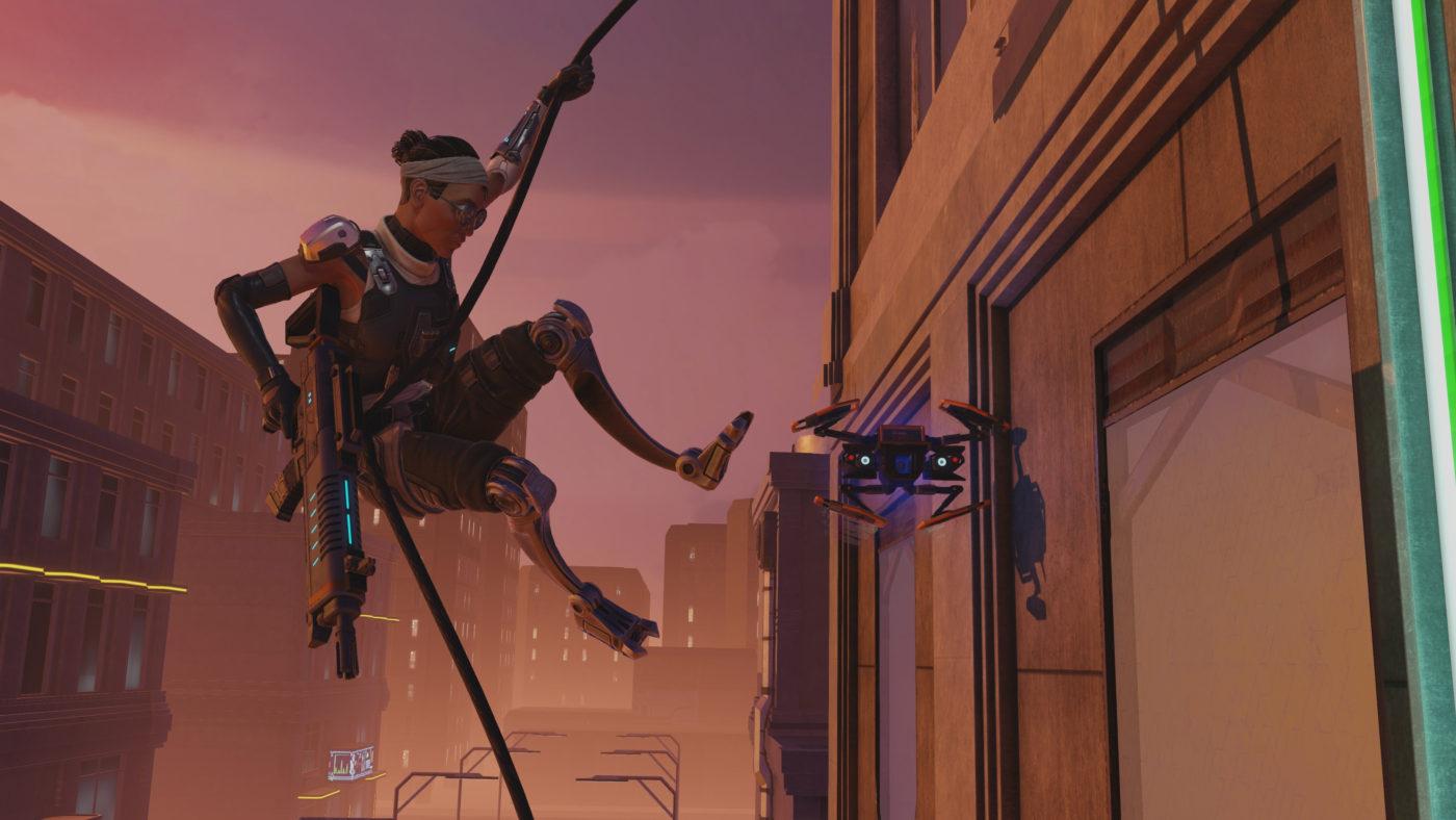 XCOM: Chimera Squad breaching