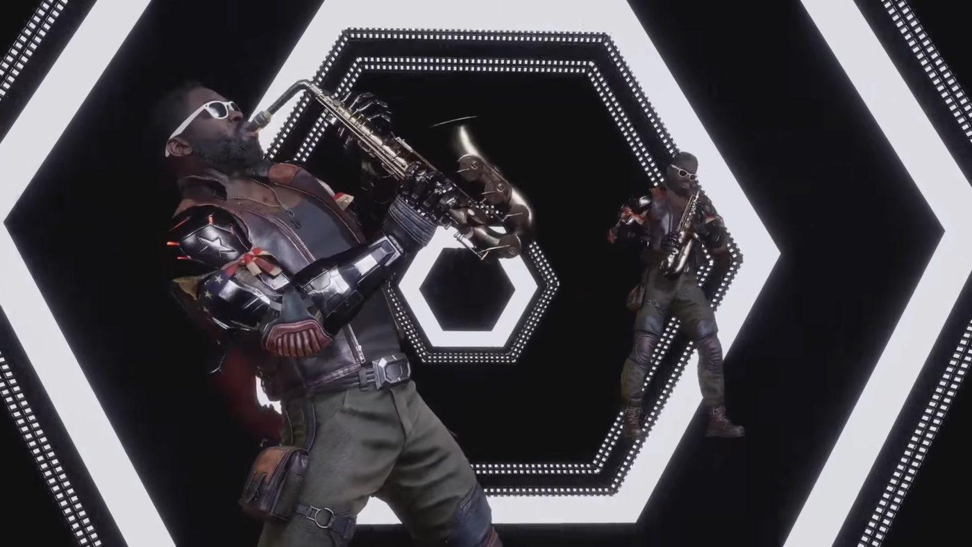 Mortal Kombat 11 Jax on Sax