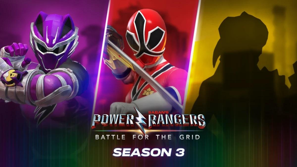 Power Rangers Battle for the Grid Season 3
