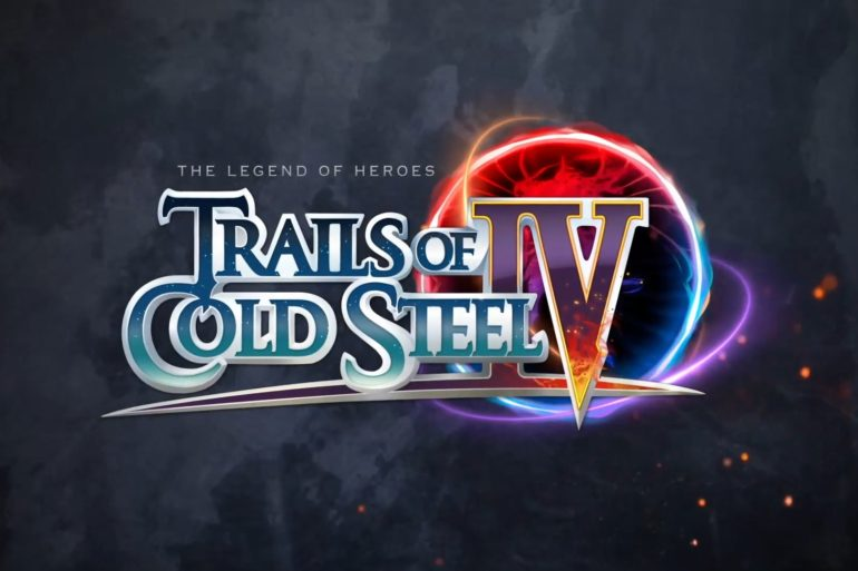 The Legend of Heroes: Trails of Cold Steel IV logo