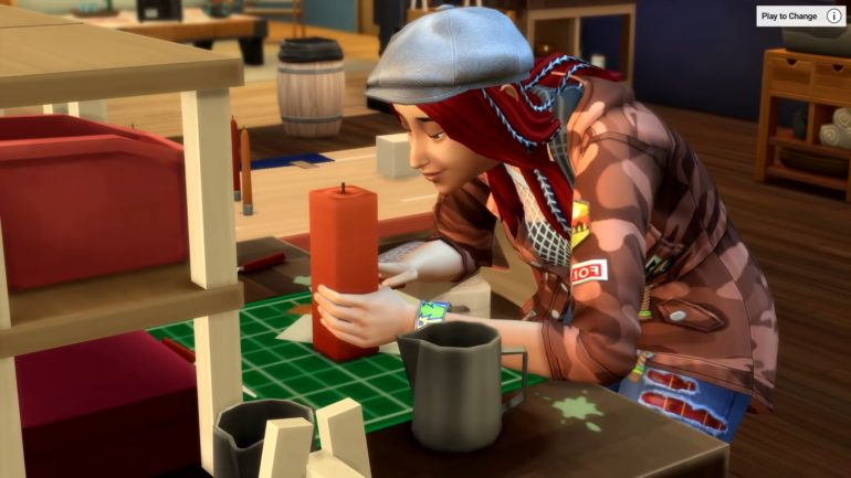 The Sims 4 Freelance Crafter